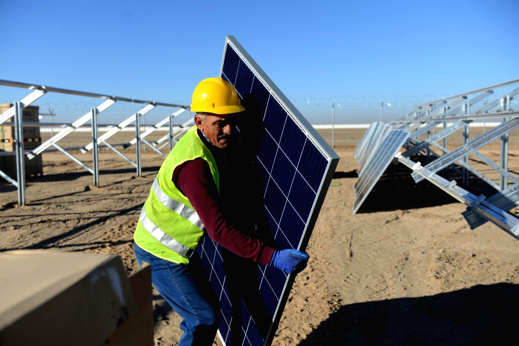 Solar Power Plant Construction Worker Salary