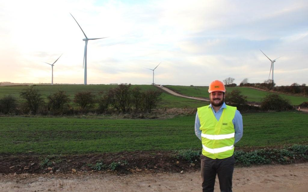 Wind Farm Site Manager Salary